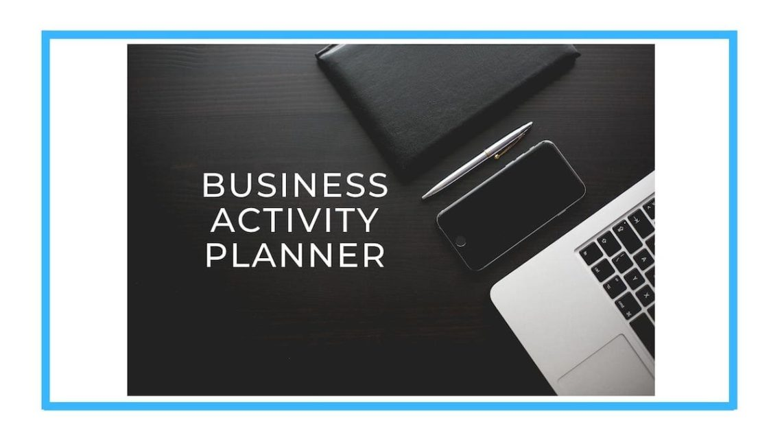 Business Activity Planner banner
