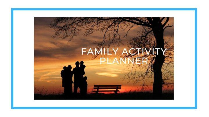 Family Activity Planner banner